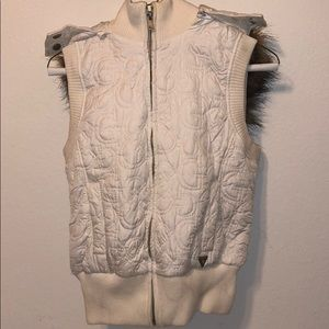 Free with closet purchase. Guess Vest